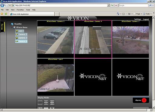ViconNet Web